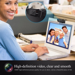 Image 4 - HXSJ new webcam HD1080P 30FPS auto focus computer camera USB sound absorbing microphone for laptops web cam