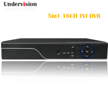 Hybrid AHD CVI TVI 5in 1 AHD DVR onvif HDMI support CCTV IP camera 16channels input