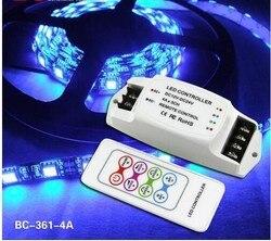 BC-361 4A * 3CH kontroler LED RGB 12 V stałe napięcie elastyczny mini kontroler LED RGB
