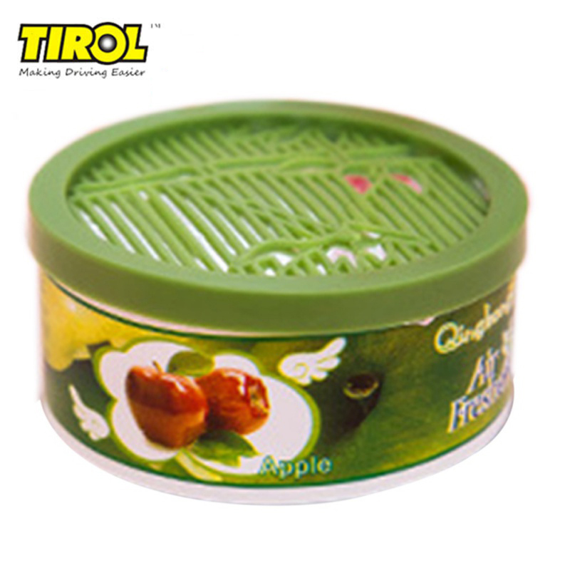 TIROL 70g Solid Indoor Car Home Solid Deodorizing Scent Air Freshener Fragrance For Homes 4 Various Flavors Car Auto Decor