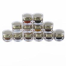 6 unids * 5 ml buena calidad maquillaje permanente pasta para labios cejas maquillaje Micropigments envío gratis