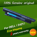 Free shipping MR90Y Original laptop Battery For Dell  0MF69 24DRM 49VTP 6KP1N 9K1VP G35K4 FW1MN YGMTN For Vostro 2421