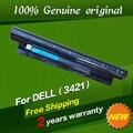Frete grátis mr90y bateria do laptop original para dell 0mf69 24drm 49vtp 6kp1n 9k1vp g35k4 fw1mn ygmtn para vostro 2421