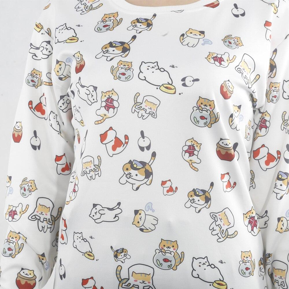 Backyard Anime Cats Sweatshirt