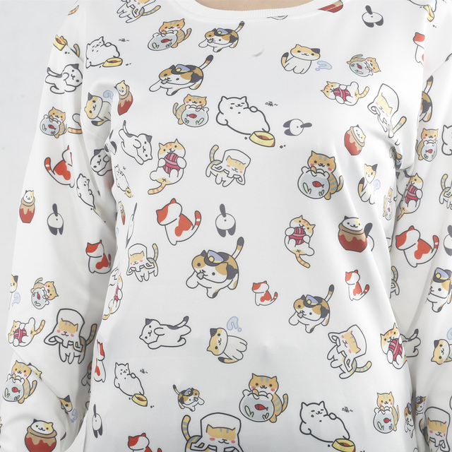 Backyard Anime Cats Sweatshirt