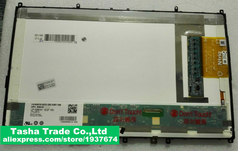 For DELL Latitude XT3 LCD Assembly Touch LCD LED Screen LP133WH1-TLD1 for LG matrixFor DELL Latitude XT3 LCD Assembly Touch LCD LED Screen LP133WH1-TLD1 for LG matrix
