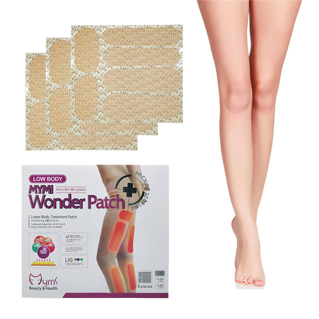180pcs/pack Wonder Slim Patch For Leg And Arm Slimming Patch Products Weight Loss Burn Fat Paster