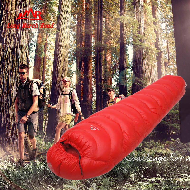 Filling 2800G outdoor camping sleeping bag duck down splicing mummy ultra-light duck down sleeping bag aegismax winter camping sleeping bag ultralight mummy duck down splicing double sleeping bags