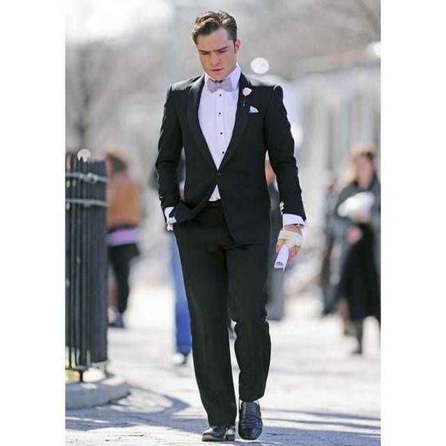 New Rushed Time Limited Flat Skinny Wedding Suits For Men Celebrity