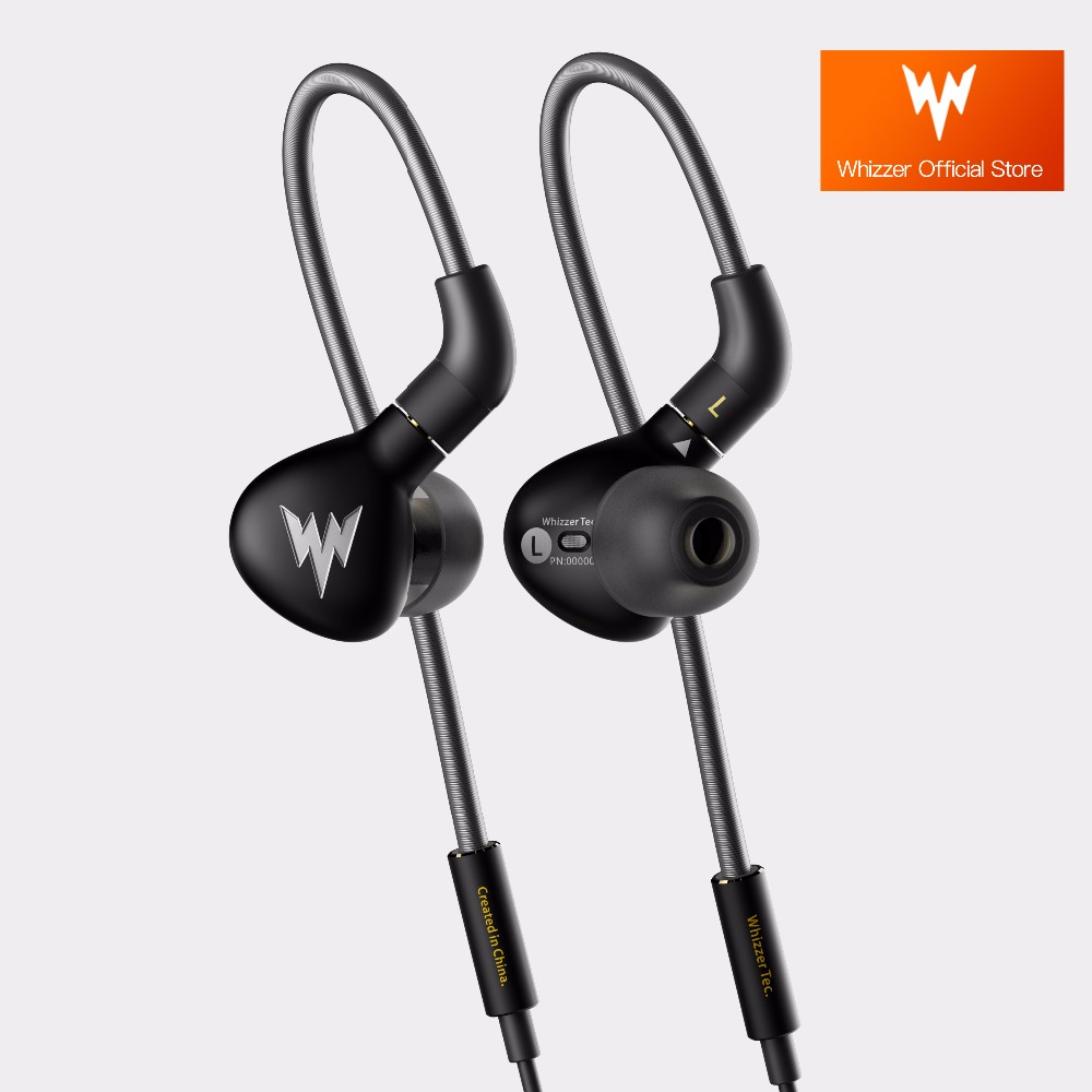 Whizzer A15Pro A15 Pro Official Store Dynamic Metal In Ear Earphones HiFi Hi-Res Balanced with MMCX cable for Audiophiles hosa pro balanced rean dual 1 4 inch trs interconnect cable