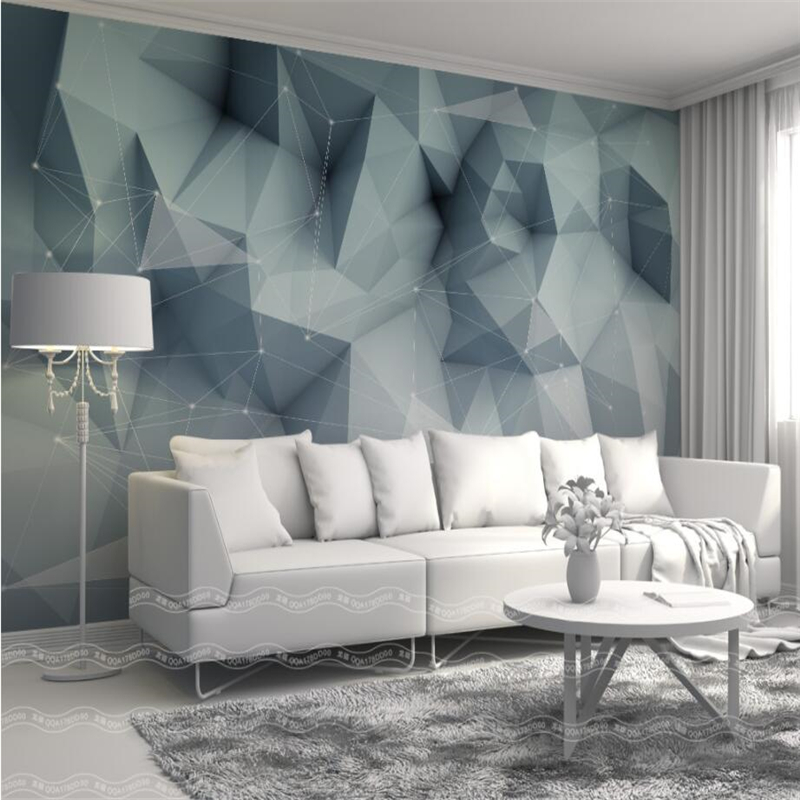 beibehang Wallpaper 3d murals Custom living room bedroom home decor Nordic abstract lines geometric wall paper background european church square ceiling frescoes murals living room bedroom study paper 3d wallpaper