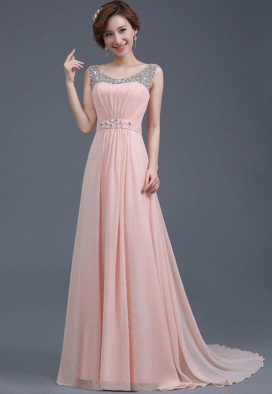 Длинные платья с шифона-фото