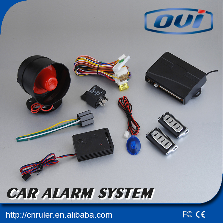 Factory Price Car Alarm System Can Remote Trunk Open Car Security Anti-theft Alarm System Remote Start
