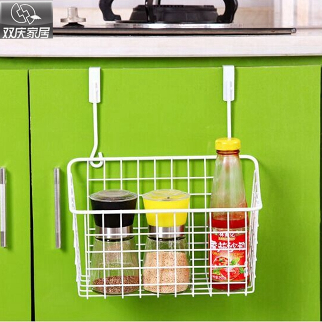 Door Hanging Basket Kitchen Supplies Storage Water Rack Cabinet E Shelf