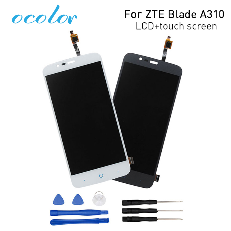 ocolor for ZTE Blade A310  LCD Display+Touch Screen Screen Digitizer Assembly Replacement for ZTE Blade A462 Phone+Toolsscreen touchzte blade screenzte blade replacement screen -