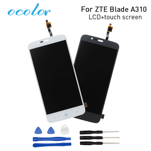 Image 1 - ocolor for ZTE Blade A310  LCD Display+Touch Screen Screen Digitizer Assembly Replacement for ZTE Blade A462 Phone+Tools