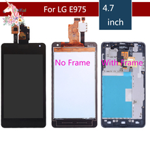 Display for LG E975 Display Touch Screen Digitizer for LG Optimus G E975 LCD LS970 F180 E971 E973 original LCD Display assembly