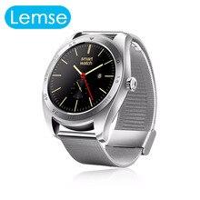 K89 Smart uhr Pulsmesser Bluetooth Nachricht Erinnerung IP54 Wasserdicht Smartwatch Für IOS Android-Handy