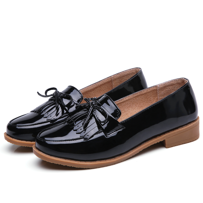 Mujer Zapatos LADIES LOAFERS FLATS FRINGE TASSEL TWO Talla TONE BROGUES STYLE Talla TWO NEW 9f2b93