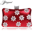 Messenger Women Evening Bags Diamonds Small Purse Evening Bag Candy Color Mix Handbags Beaded Evening Bags For Wedding