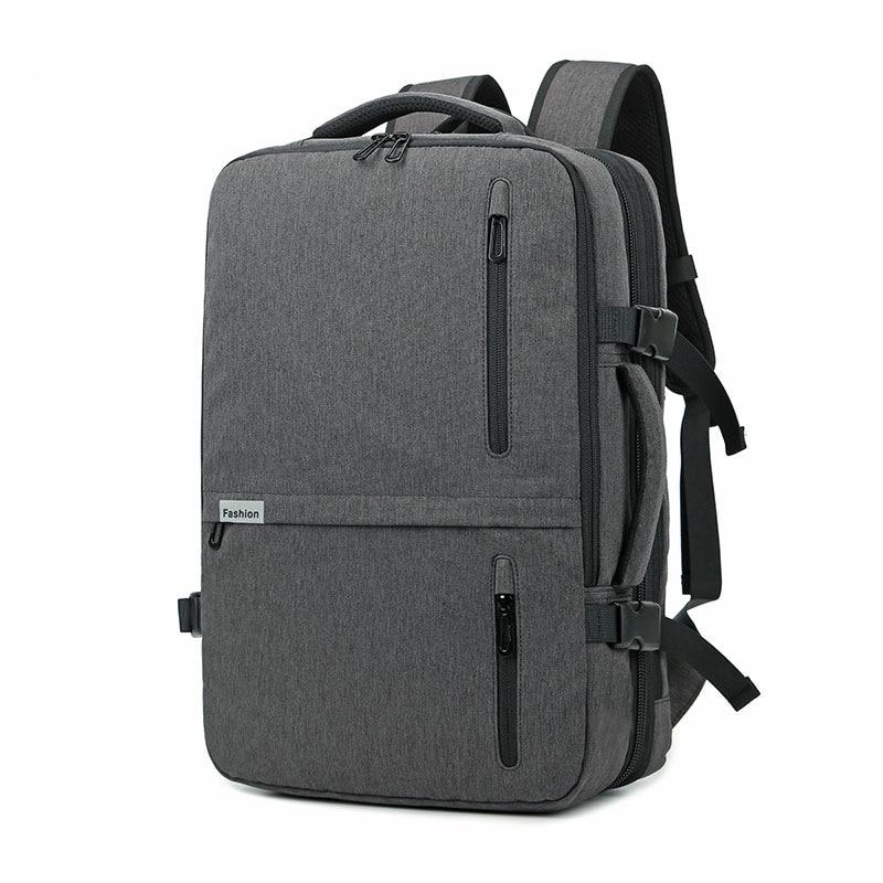 17 ''sac à dos pour ordinateur portable sac de voyage femmes hommes étanche 30L grand sac à dos extérieur Anti-vol mâle femelle extérieur 15.6 retour emballage - 2