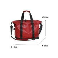 Vintage PU Leather Women Travel Duffle Bag Sac De Voyage Man Bucket Luggage Handbag Shoulder Crossbody Bags for Women 2018 HM 25