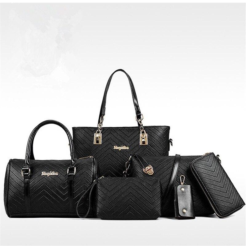 3517d7c411 Beige black Grande Relief ensemble De Sacs Mode Pièces Main Américain  Femmes Et À pink Composite ...