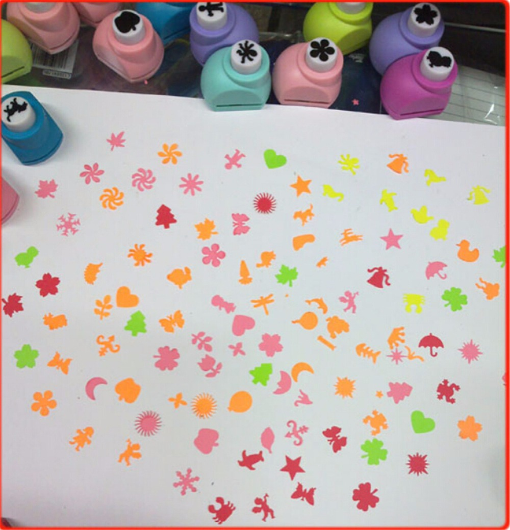 20pcsset Creative Children Diy Make Paper Punch Shaper Puncher