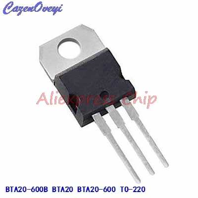 1pcs/lot BTA20-600B BTA20 BTA20-600 Triacs 20 Amp 600 Volt TO-220 new original In Stock