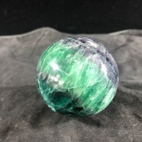 Natural Rare fluorite Ball Magic quartz Crystal Sphere reiki Healing