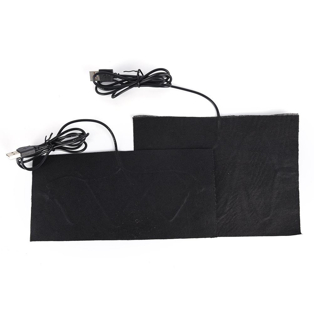 5v portable usb heating sheet warm hand mouse pad carbon fiber heating pad /_ES