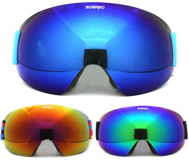 Prix pour GRIMPÉ EN FLÈCHE Hommes Femmes Lunettes de Ski Double Lentille UV400 Protection Anti-brouillard Adulte Snowboard Ski Lunettes de Neige Lunettes