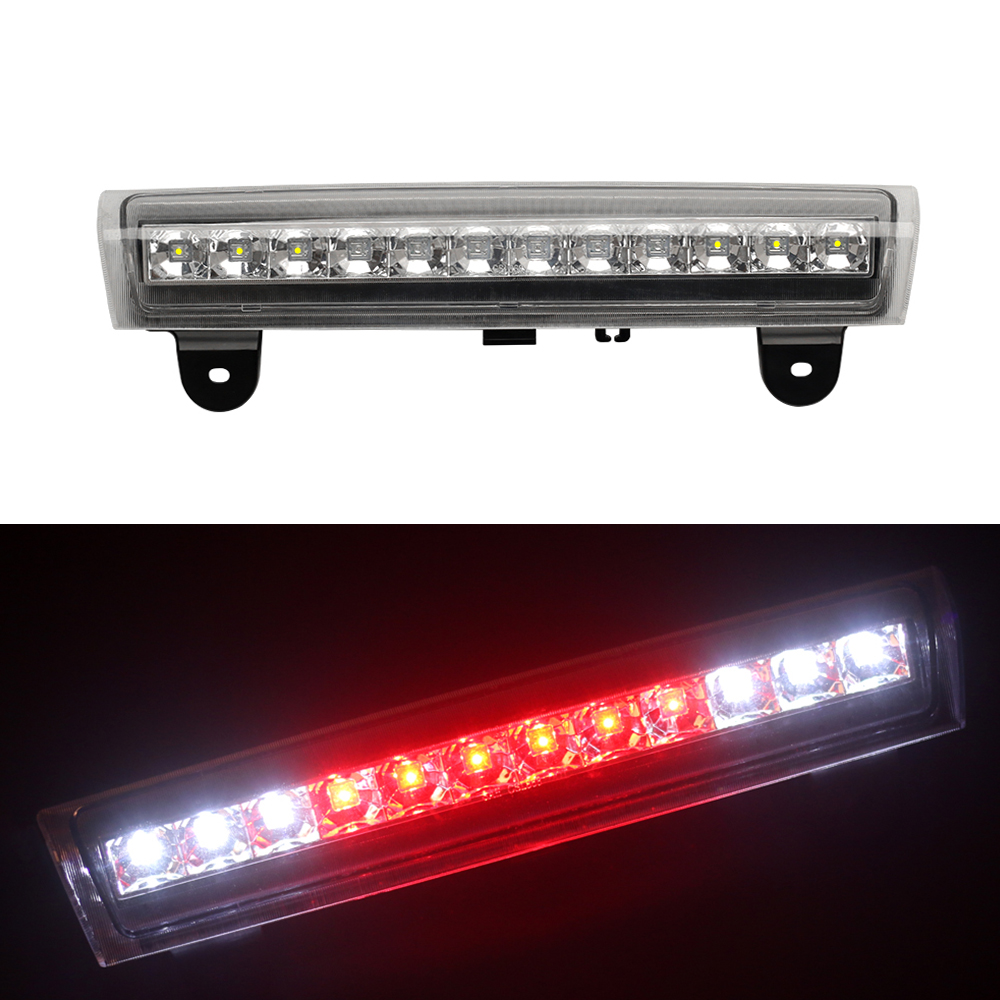 Hot Sale Third Brake Light Center High Mount Stop Light Lamp Replacement for Chevrolet/GMC/SUV White Lens third brake lamp led third stop brake light lamp rear for mercedes benz w203 c160 c180 c200 c220 c230 c240 c270 c280 c320 c350