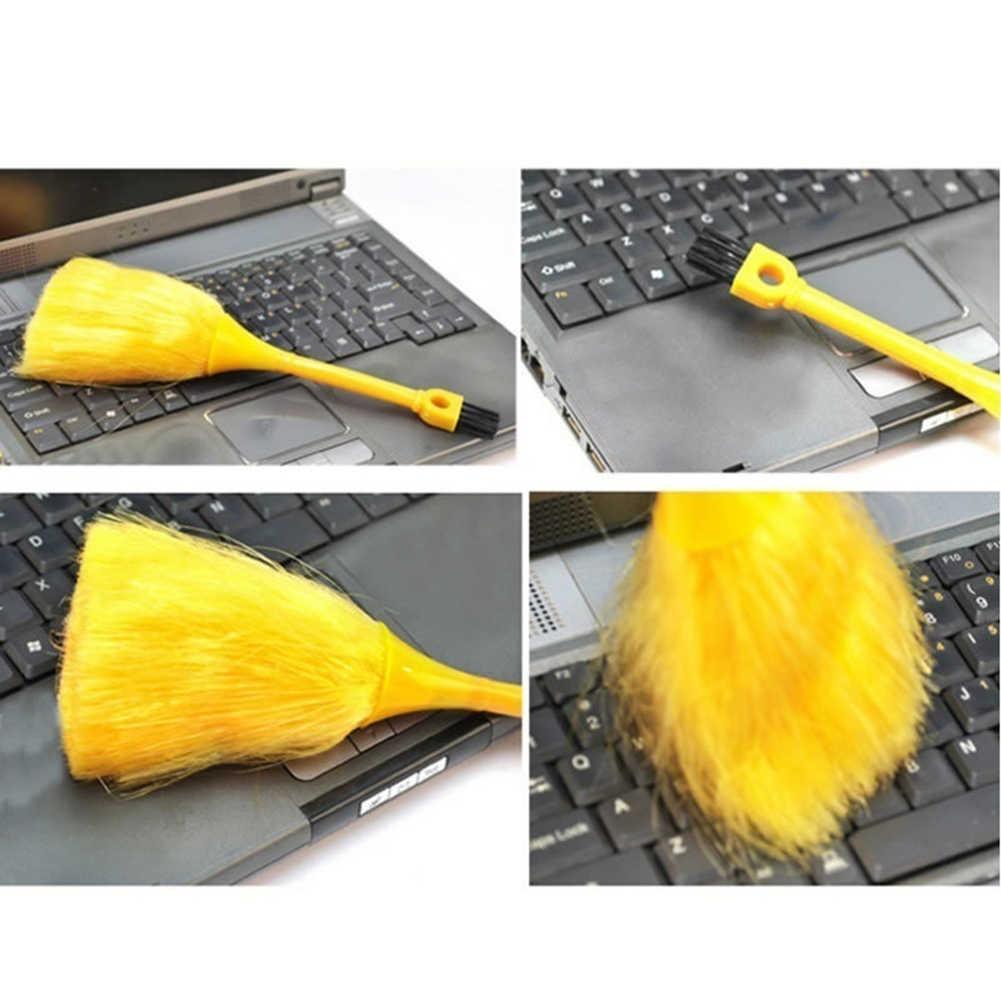 ポータブルミニブラシキーボードデスクトップ本棚ダスト削除ほうきクリーニングツール