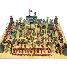146 Pcs / Set Plastic Soldier Military Men Toys Model Toy Collection