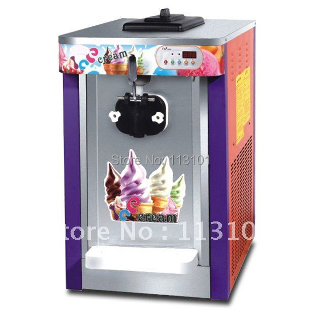 18L hour one flavor soft ice cream machine electric ice cream maker machine