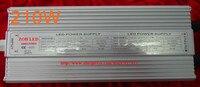 210 Вт светодиодный драйвер, DC54V, 4.2a, высокой мощности Светодиодный драйвер для прожектор/уличного света, ip65, постоянный ток питания привода