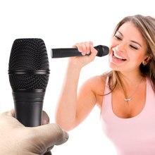 FooHee – Microphones sans fil 1 conduit 2, Double antenne, karaoké, maison, TV, ordinateur, haut-parleur KTV avec émetteur haute fidélité JV105