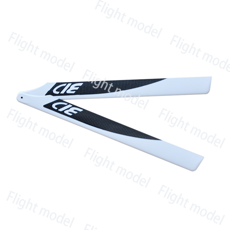 1Pair 430MM Glass Fiber Main Rotor Blade for Trex 500 RC Helicopter