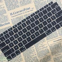 Французский клавир защитный чехол AZERTY для клавиатуры Apple Macbook New Air 13 с дисплеем retina Touch ID A1932