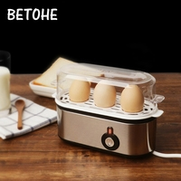 BETOHE Electric Egg cooker automatic power off mini appliance steamed egg breakfast machine home multifunction Kitchen Utensils