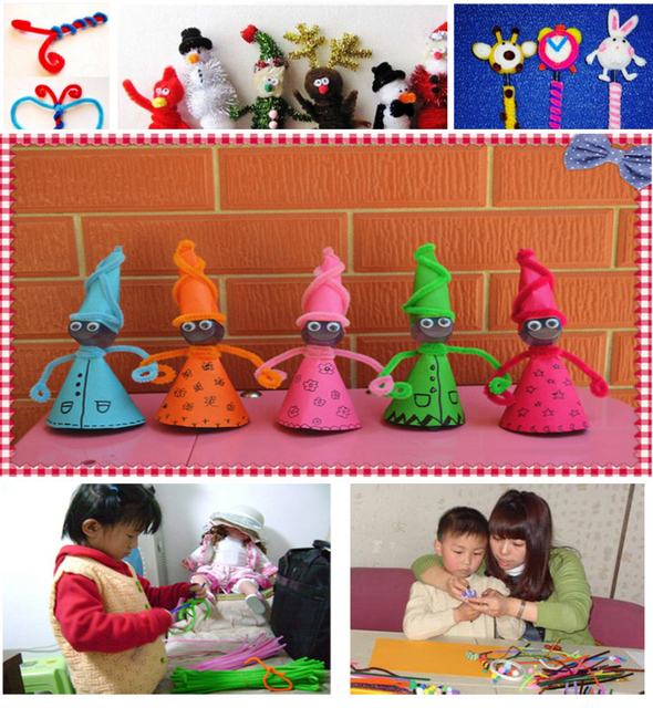 100pcs  Pipe Cleaners