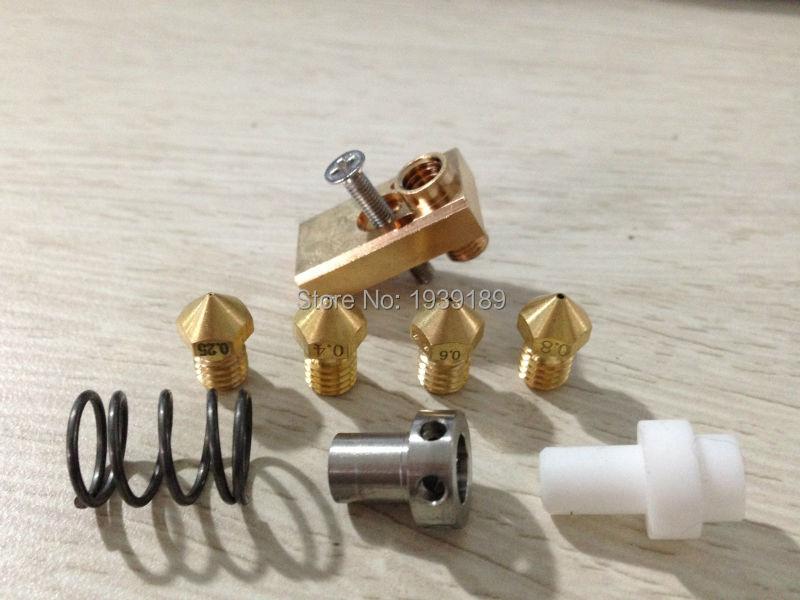 Prix pour Ultimaker 2 + UM2 + Olsson bloc buse hotend kit pour 3.00mm filament 3D imprimante BRICOLAGE partie