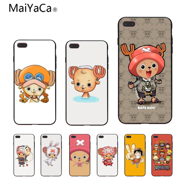 Maiyaca One Piece Anime Wallpaper Tpu Black Soft Shell Phone Case