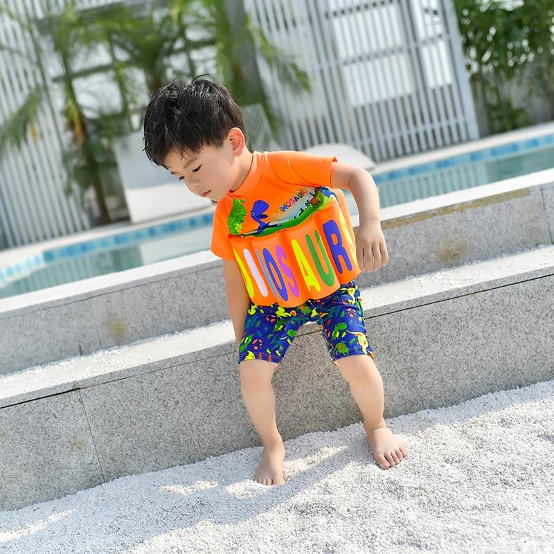 Kids Jongens Dinosaurus Rashguard Badmode Kinderen Drijvende Zwemmen Surf Beach Badpak Baby Meisjes Cartoon Auto Surfen Badpak