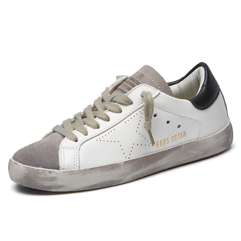 Prix pour Printemps Respirant chaussures de Skate Chaussures Hommes Sneakers Sports de Plein Air Chaussures Formateurs Hommes Jogging Marche Dentelle-Up PU En Cuir Appartements