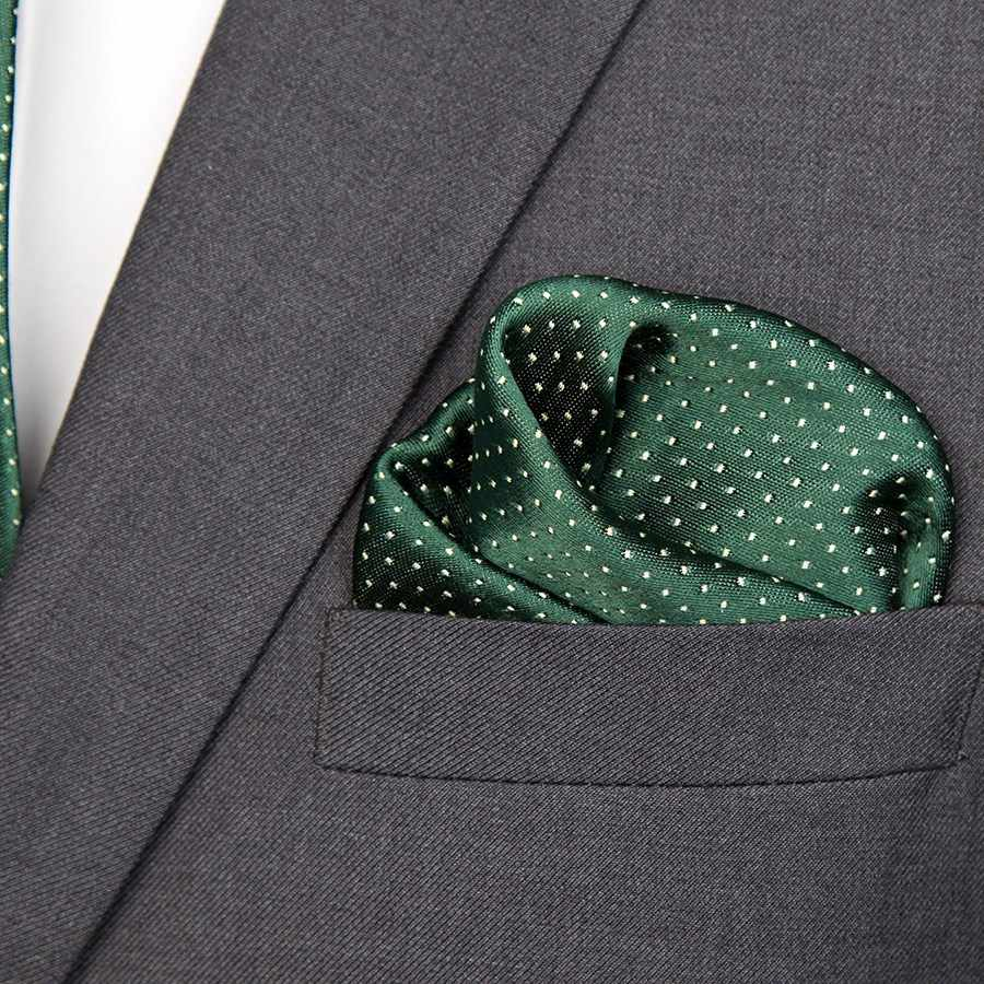 XGVOKH الرجال التعادل Cravat مجموعة موضة الزفاف العلاقات للرجال Hanky ربطة العنق نقطة مخطط Gravata الجاكار التعادل الاجتماعية اكسسوارات الحفلات