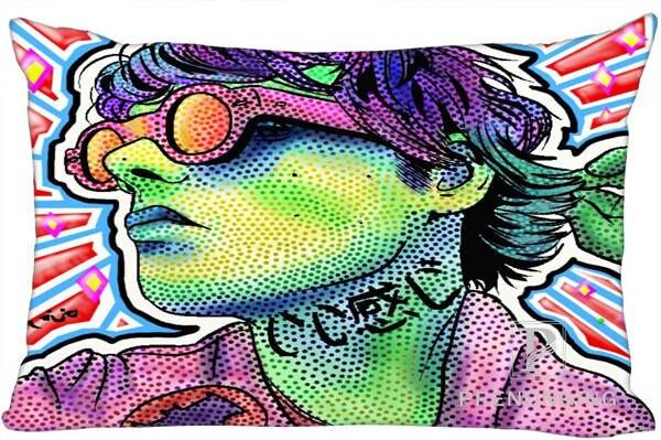 Best Custom Pillow Case Gee Way Gerard Way Rectangle Pillowcases zipper 40x60cm (One Side Print) @180117-110