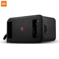 Original Xiaomi VR BOX Virtual Reality 3D VR Glasses Google Cardboard Mi Box With Remote Controller