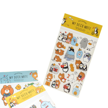 3pcs/pack Kawaii Bear penguin stickers Sticker Washi Album Dairy Decoration DIY Scrapbook